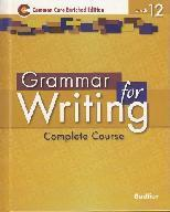 Grammar for Writing, Grade 12 Common Core Enriched Edition ebook (1 Year Access)