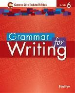 Grammar for Writing, Grade 6 Common Core Enriched Edition ebook (1 Year Access)