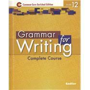 Grammar for Writing: Common Core Enriched Ed, Grade 12 eBook