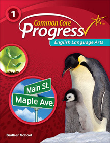 Common Core Progress English Language Arts Grade 1