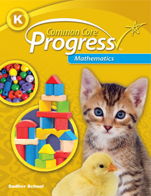 Common Core Progress Mathematics, Grade K ebook (1 Year Access)