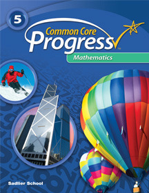 Common Core Progress Mathematics, Grade 5 ebook (1 Year Access)