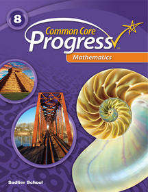 Common Core Progress Mathematics, Grade 8 ebook (1 Year Access)