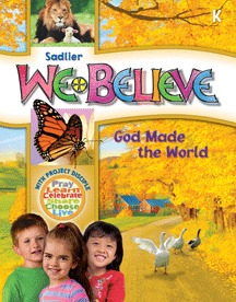 We Believe with Project Disciple, School Edition Grade K
