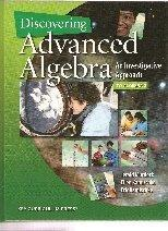 Discovering Advanced Algebra: An Investigative Approach Student Edition 1 Year Access
