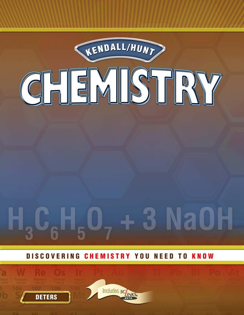Kendall Hunt Chemistry: Chemistry You Need to Know Student 1 Year Online License