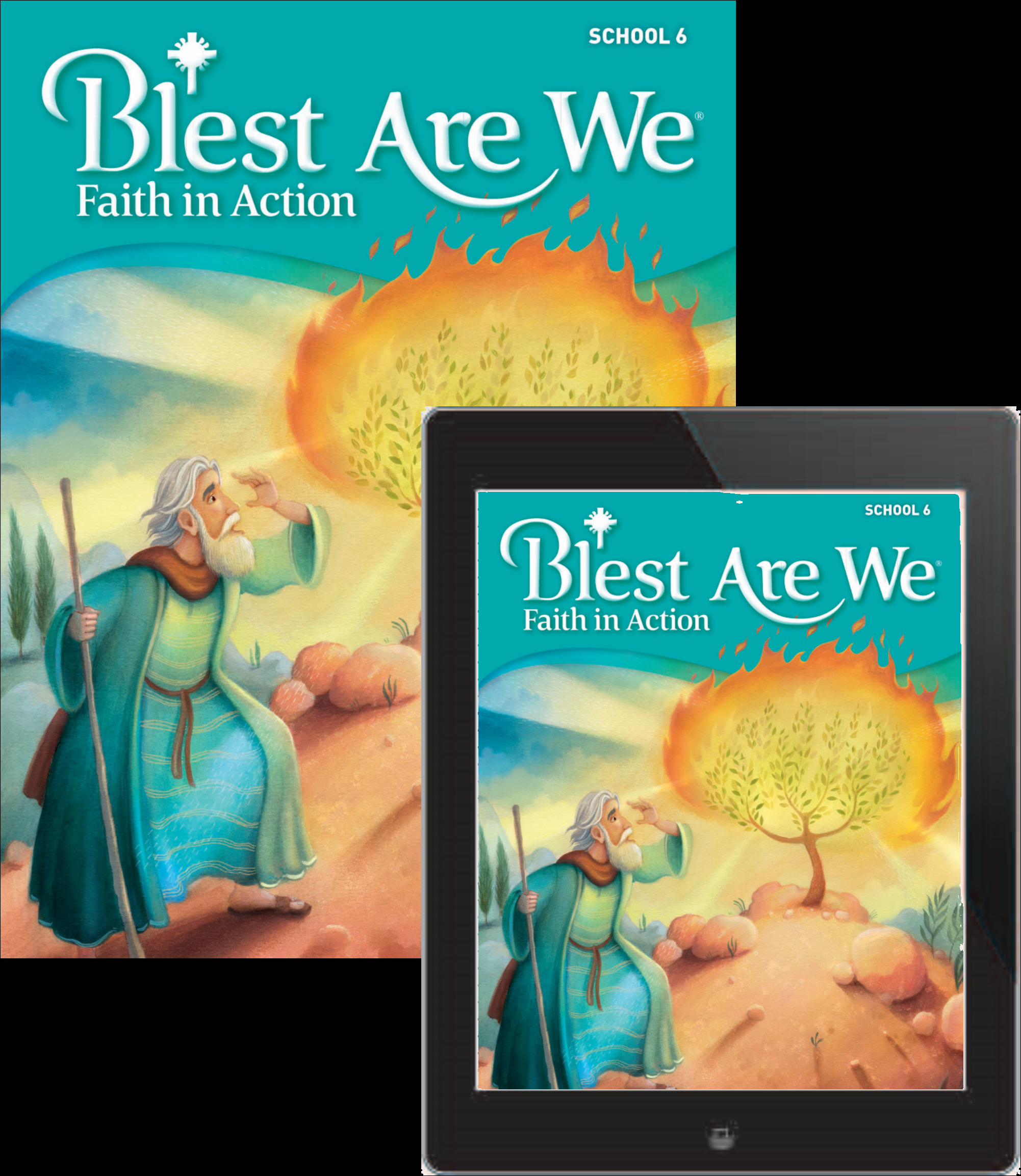 Blest Are We Faith in Action School: Grade 6 Student Edition 1 Year Online License