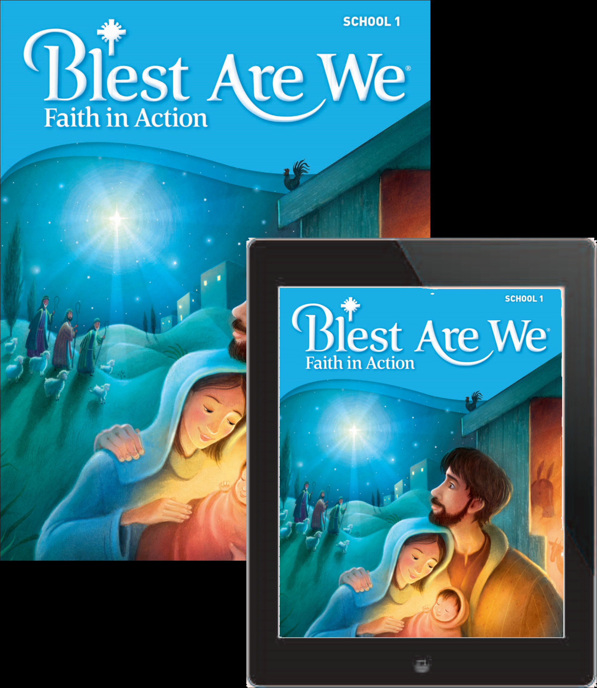 Blest Are We Faith in Action School: Grade 1 Student Edition 1 Year Online License