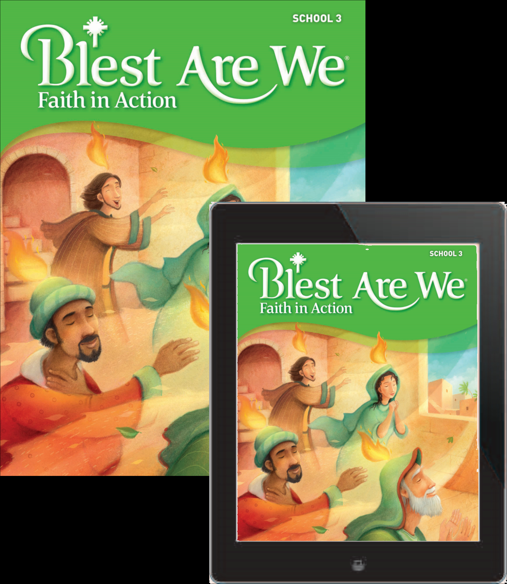 Blest Are We Faith in Action School: Grade 3 Student Edition 1 Year Online License