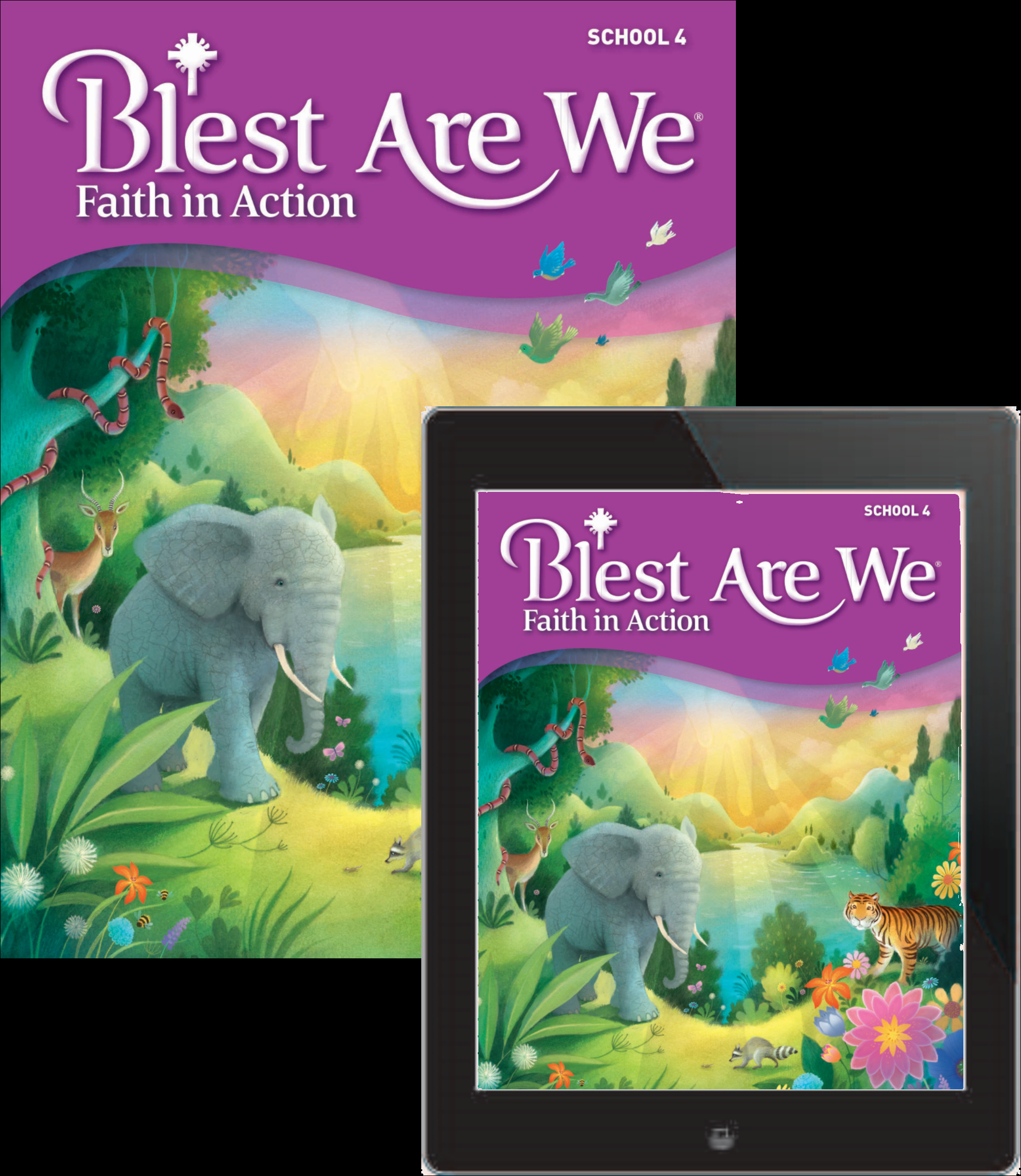 Blest Are We Faith in Action School: Grade 4 Student Edition 1 Year Online License