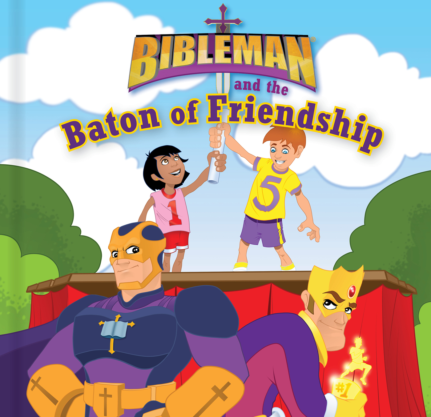 Bibleman and the Baton of Friendship, epub