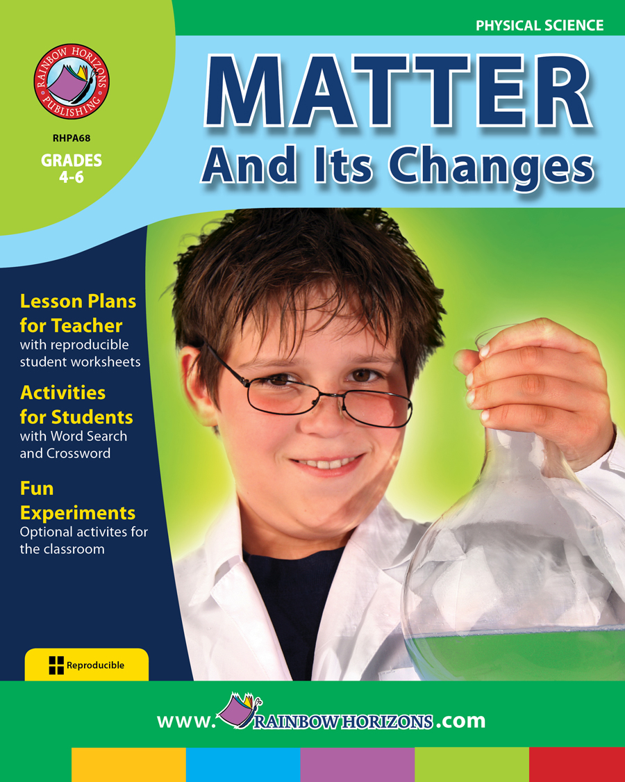 Matter And Its Changes Gr. 4-6