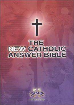 New Catholic Answer Bible Large Print NABRE