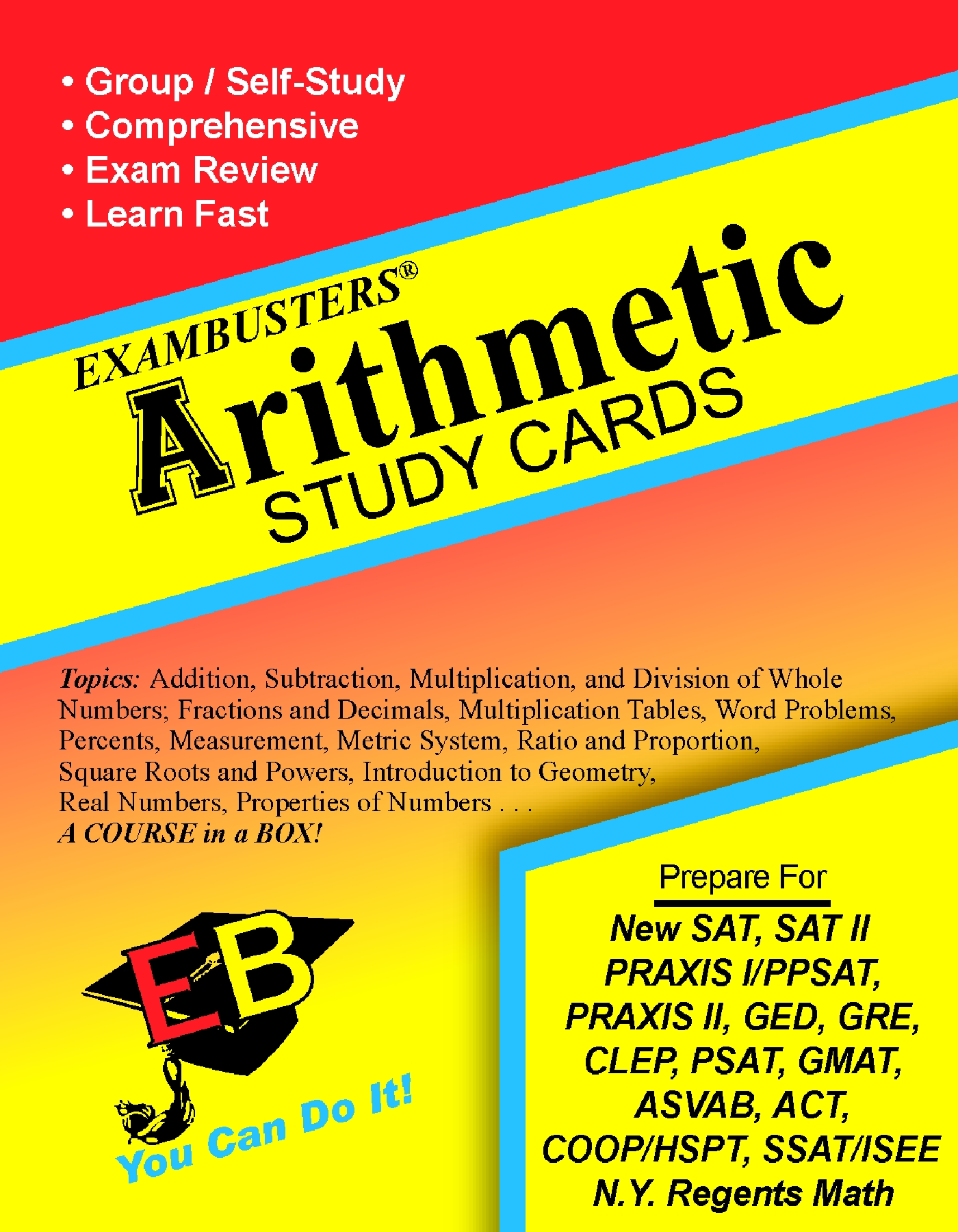 Arithmetic Flash Cards