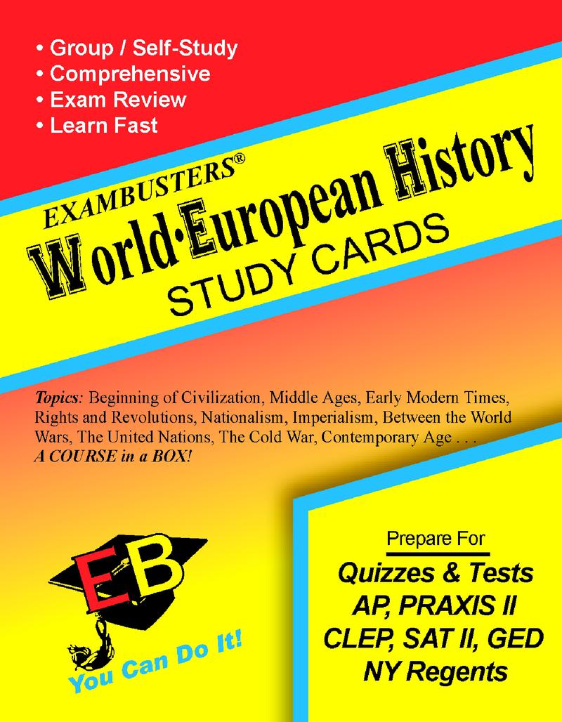 World-European History Flash Cards