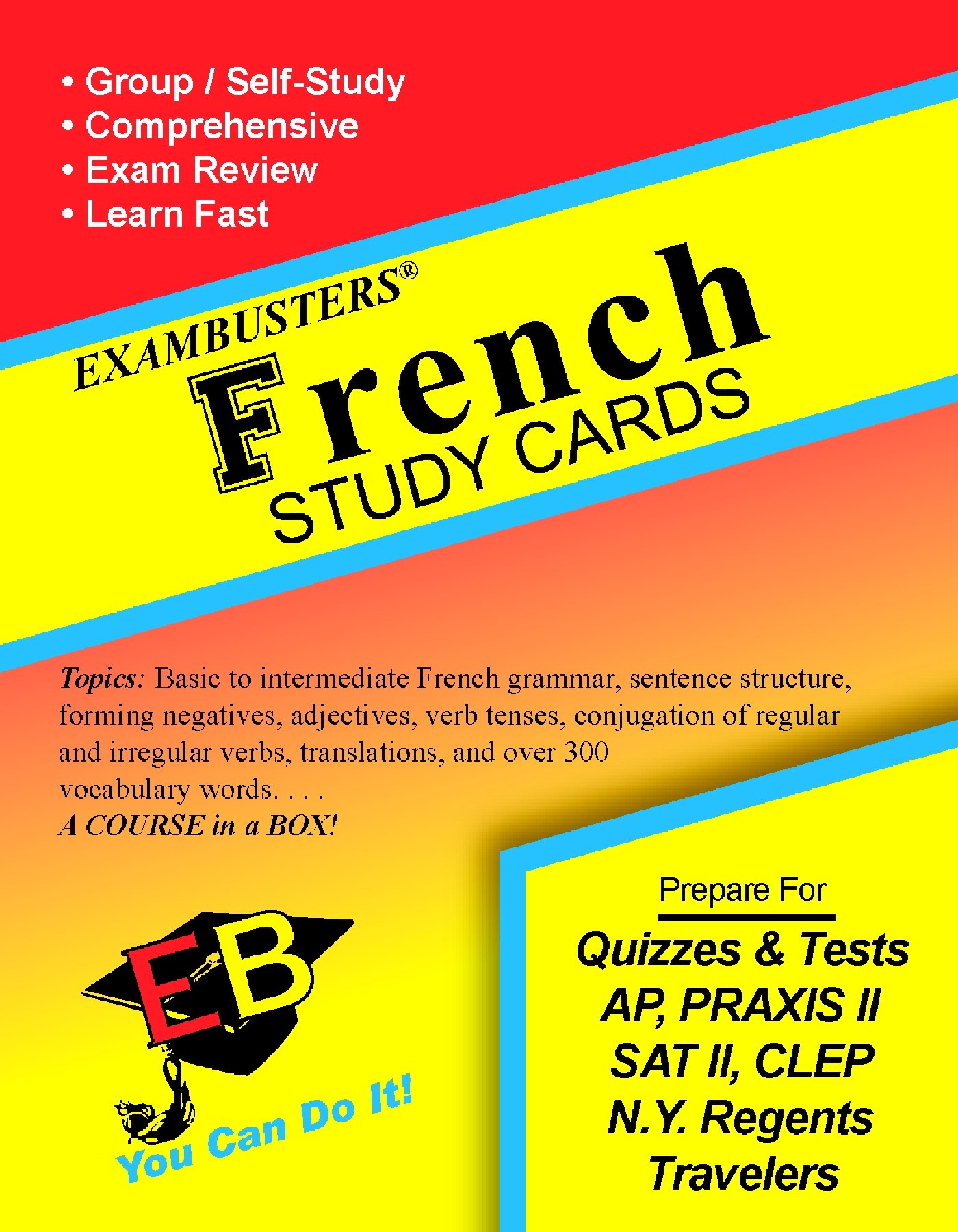 French Grammar-Vocabulary Flash Cards