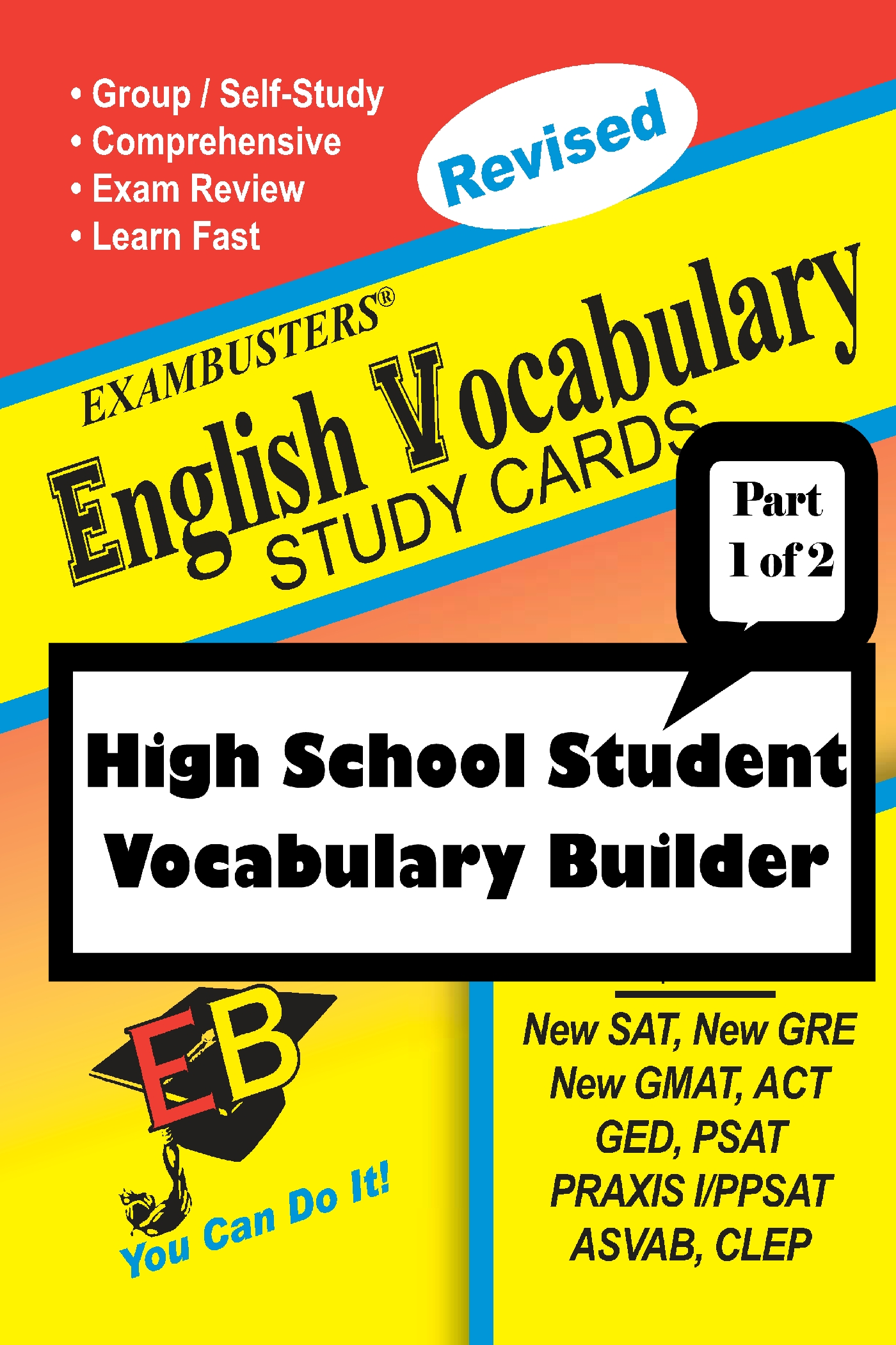 Exambusters English Vocabulary Study Cards: High School Vocabulary Builder--Part 1 of 2: Exambusters Vocabulary