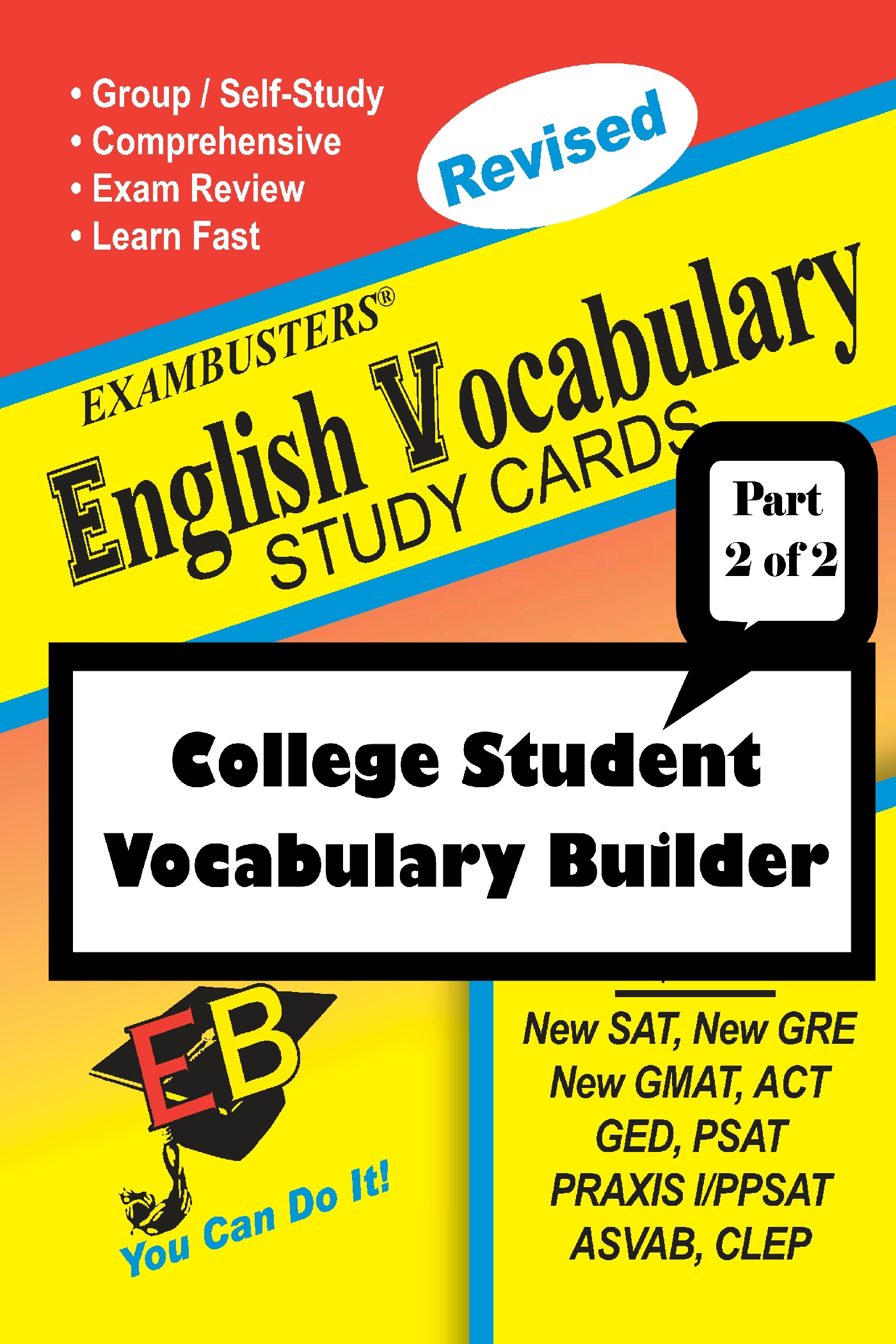Exambusters English Vocabulary Study Cards: College Vocabulary Builder--Part 2 of 2: Exambusters Vocabulary