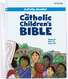 Catholic Childrens Bible Activity Booklet w/Repr. Activities