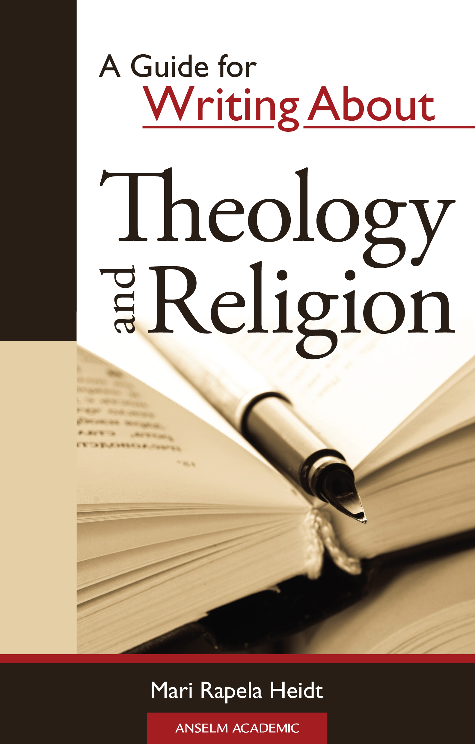 A Guide for Writing about Theology and Religion