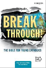 Breakthrough! The Bible for Young Catholics-NABRE (Paperback)