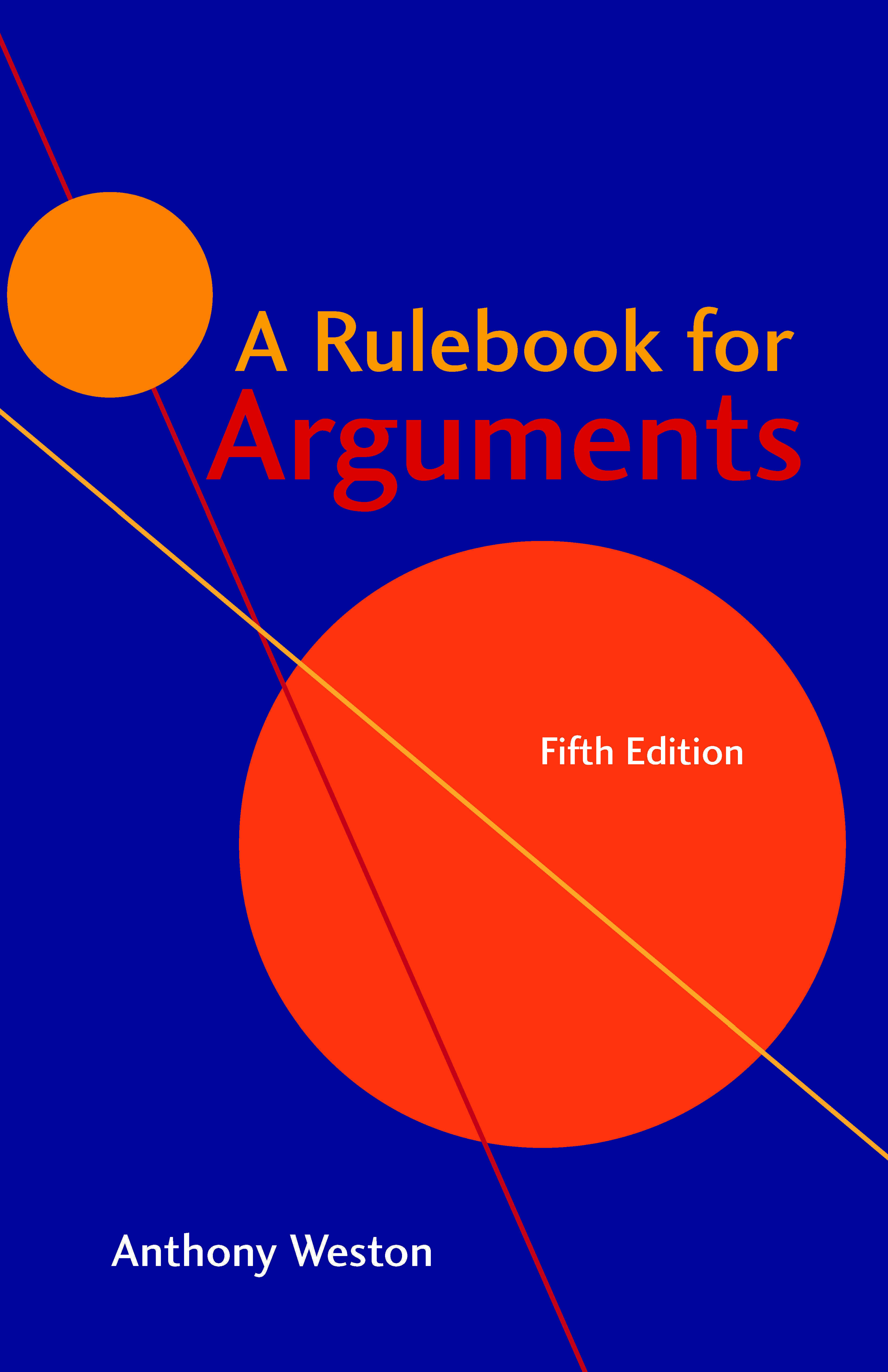 Rulebook for Arguments, 5th Edition