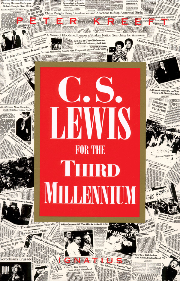 C. S. Lewis for The Third Millennium