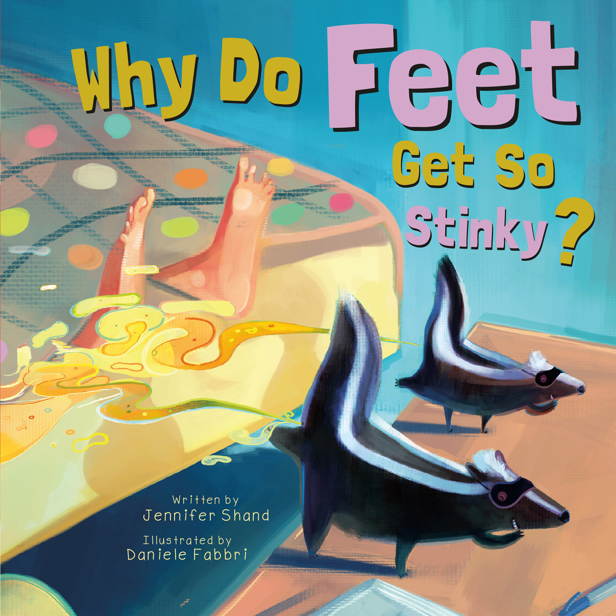 Why Do Feet Get So Stinky?