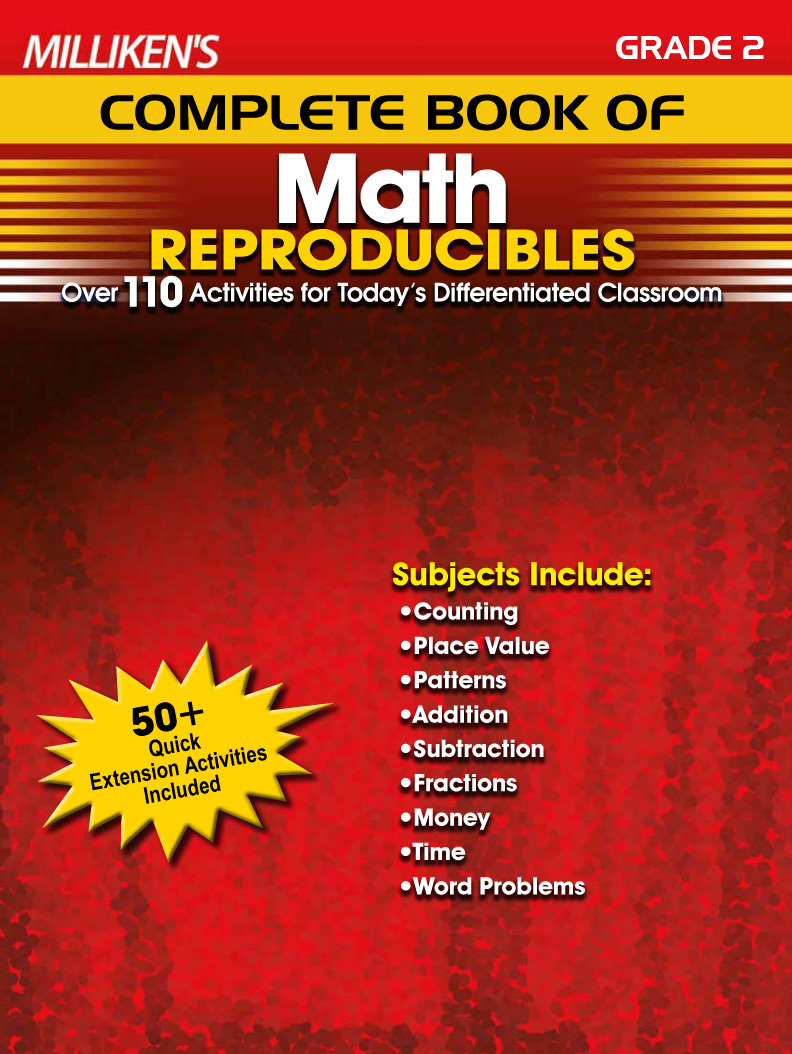 Milliken's Complete Book of Math Reproducibles - Grade 2