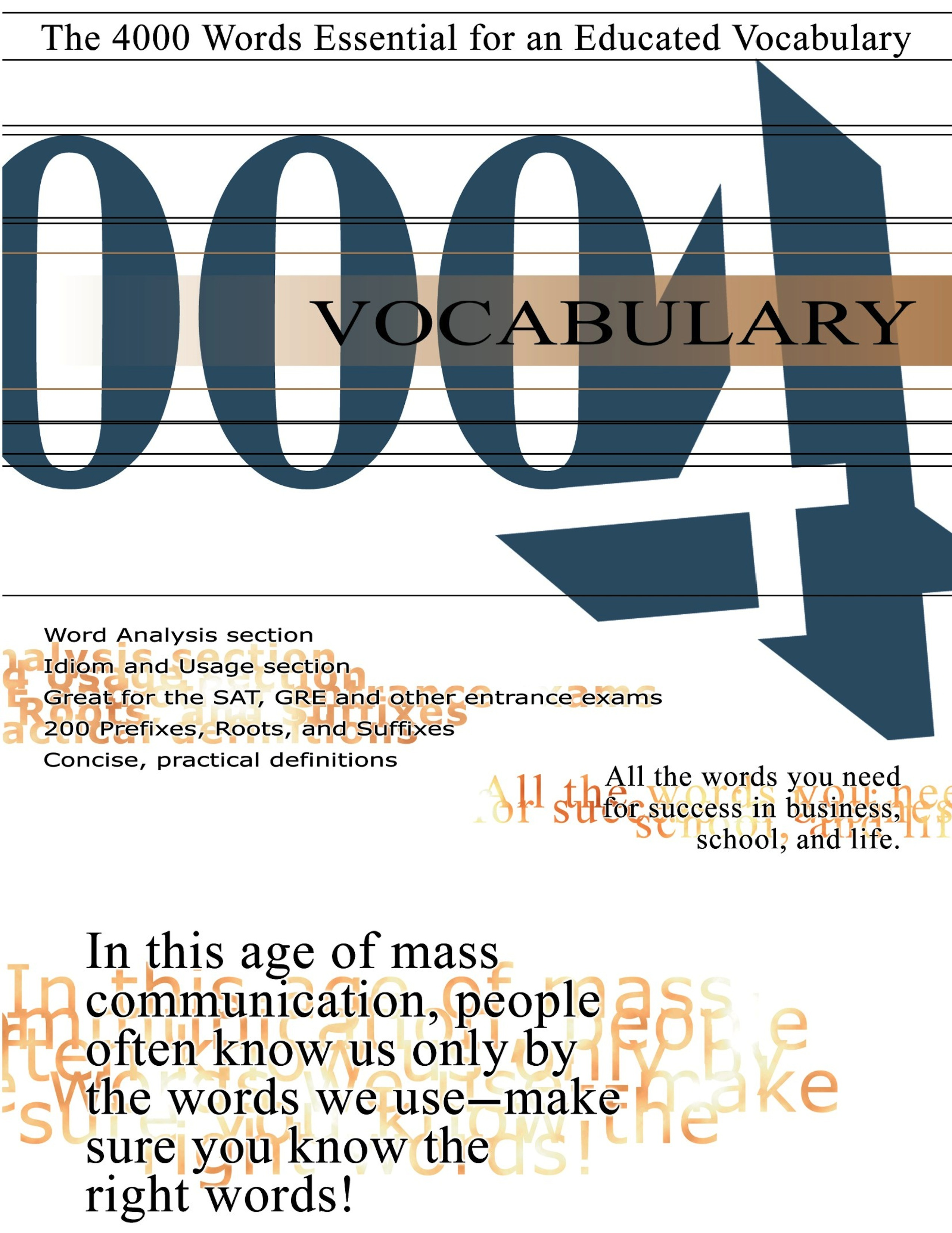 Vocabulary 4000: The 4000 Words Essential for an Educated Vocabulary