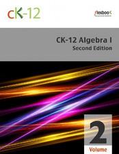 CK-12 Algebra 1 (2nd Edition)  Distribution