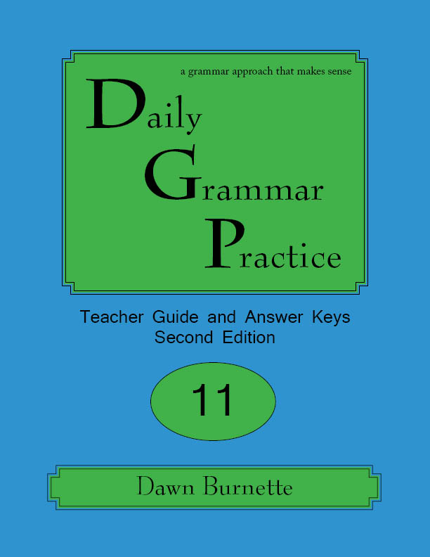 Daily Grammar Practice Teacher Guide and Answer Keys 2nd Edition 11