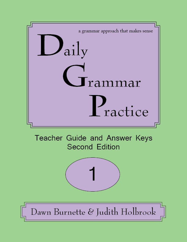Daily Grammar Practice Teacher Guide and Answer Keys 2nd Edition 1