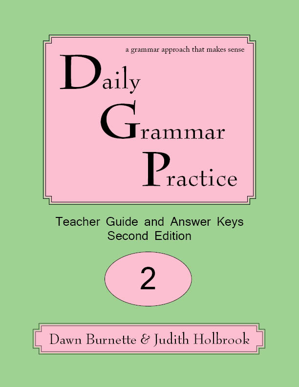 Daily Grammar Practice Teacher Guide and Answer Keys 2nd Edition 2