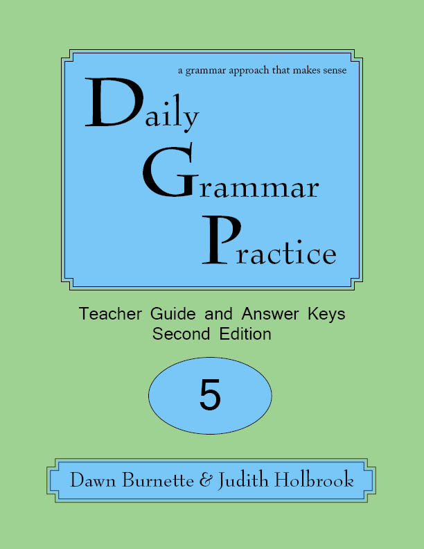 Daily Grammar Practice Teacher Guide and Answer Keys 2nd Edition 5