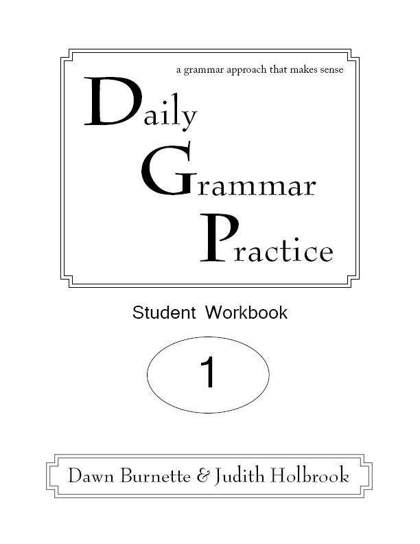 Daily Grammar Practice Student Workbook 2nd Edition 1