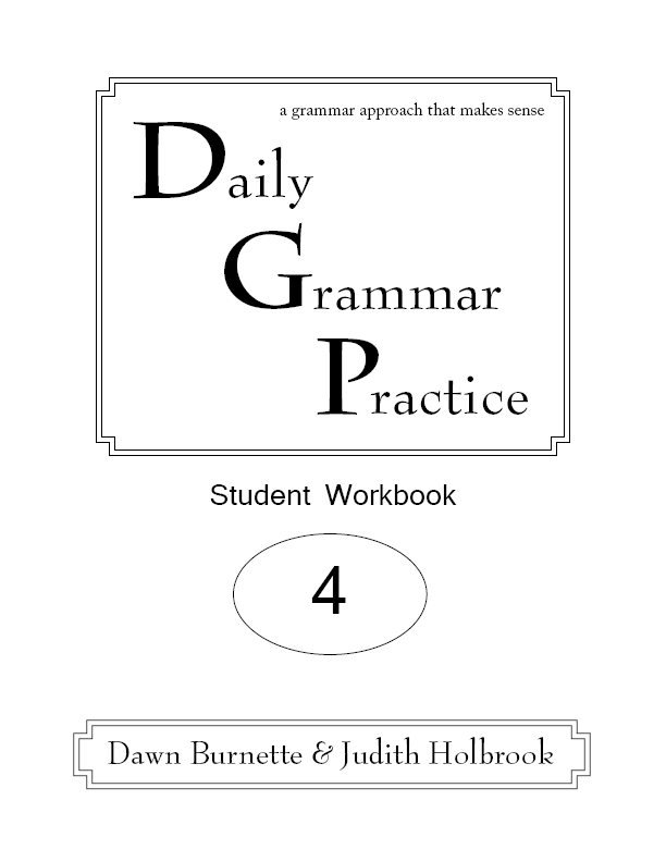 Daily Grammar Practice Student Workbook 2nd Edition 4