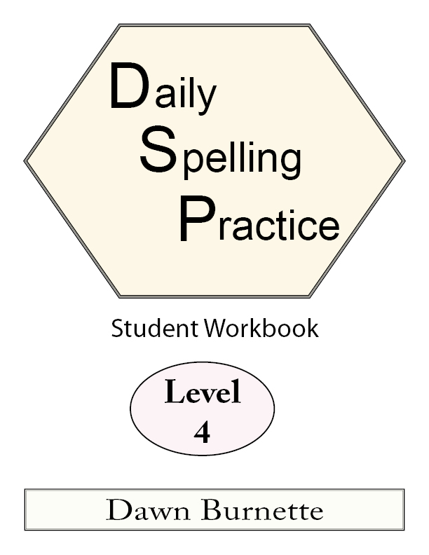 Daily Spelling Practice Student Workbook Level 4